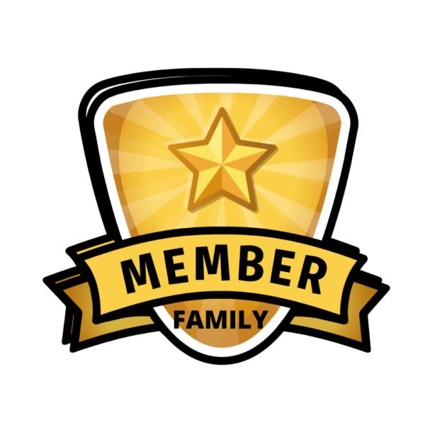 member badge family